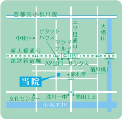 菊川駅から徒歩2分